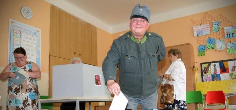 В Чехии проходят выборы в Европейский парламент