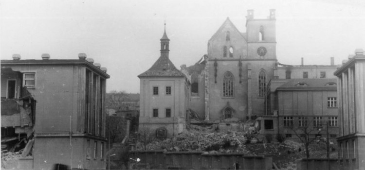 Прага в огне! Американский авианалет 70 лет назад унес жизни 700 человек