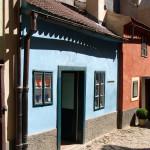 Дом в котором жил Франц Кафка на Златой уллочке