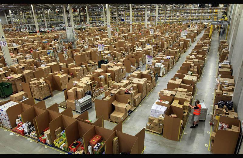 Складские помещения компании Amazon в г. Суонси, Великобритания