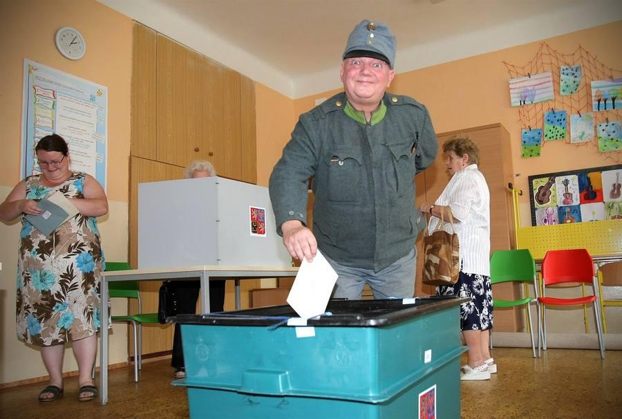 Известный чешский актер Пршемысл Кубишта - на выборах в Европарламент