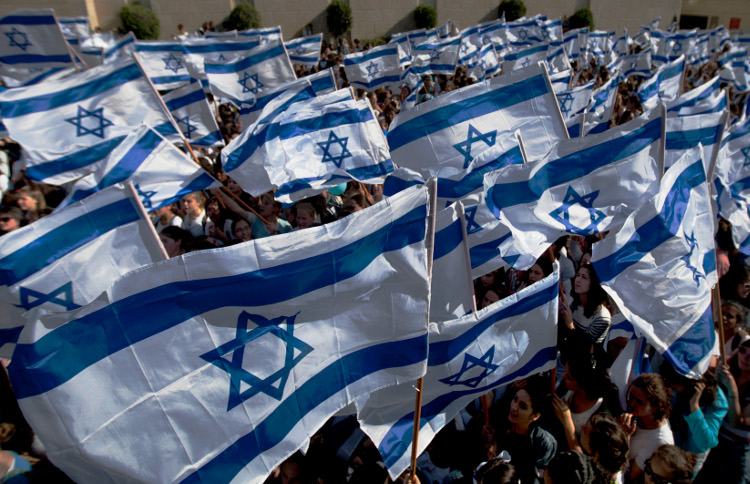 israel-people-flags